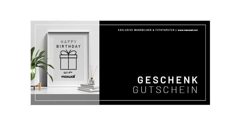 Gutscheinkarte | Happy Birthday
